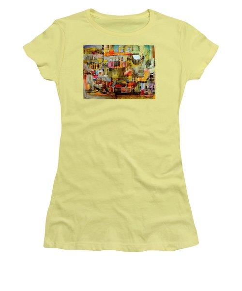 City Life  Women's T-Shirt (Junior Cut) by Nancy Kane Chapman