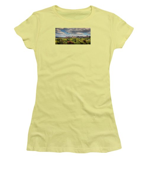 City Skyline Women's T-Shirt (Athletic Fit)