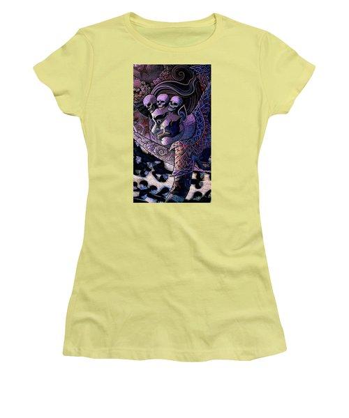 Claiming Lost Souls  Women's T-Shirt (Junior Cut) by Ian Gledhill