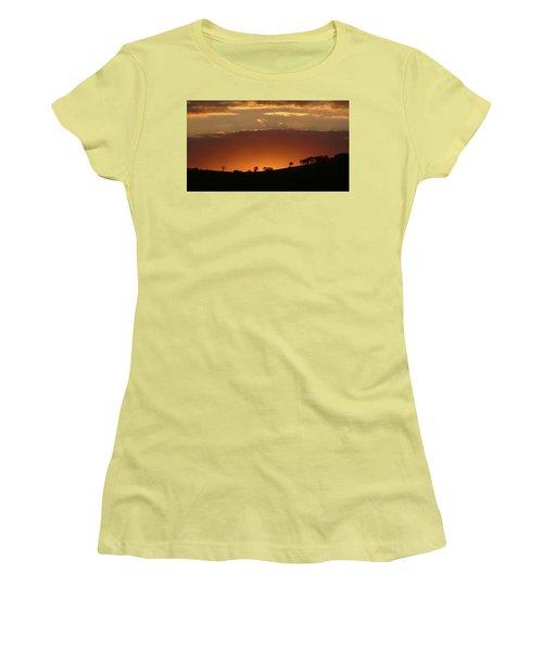 Clarkes Road II Women's T-Shirt (Junior Cut) by Evelyn Tambour