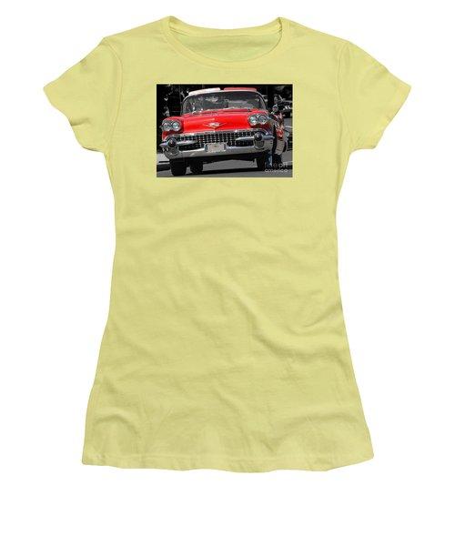 Classic Car Women's T-Shirt (Junior Cut) by Raymond Earley