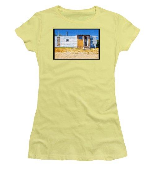 Women's T-Shirt (Junior Cut) featuring the photograph Classic Trailer by Susan Kinney