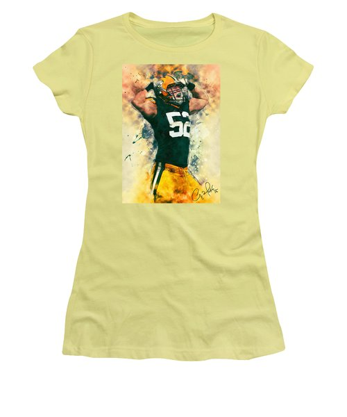Clay Matthews Women's T-Shirt (Athletic Fit)