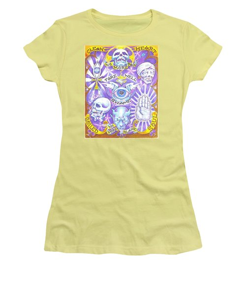 Clean Heart Women's T-Shirt (Athletic Fit)