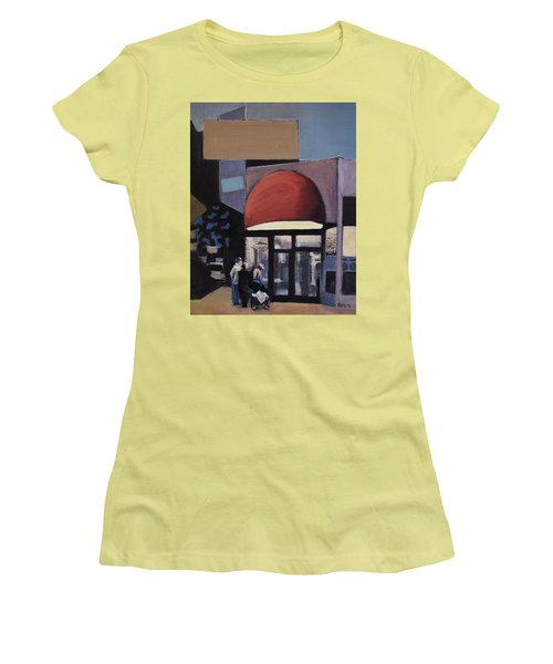 Clean - O - Matic Women's T-Shirt (Junior Cut) by Richard Willson