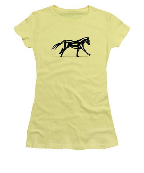 Clementine - Abstract Horse Women's T-Shirt (Athletic Fit)