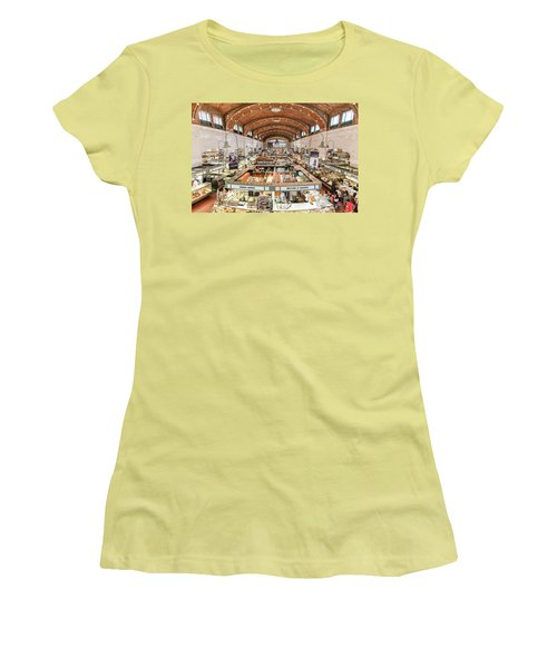 Cleveland Westside Market  Women's T-Shirt (Athletic Fit)