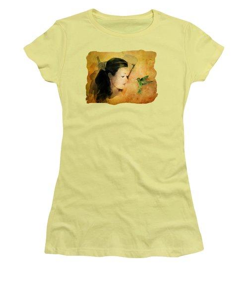 Close Encounter Women's T-Shirt (Junior Cut) by Terry Fleckney