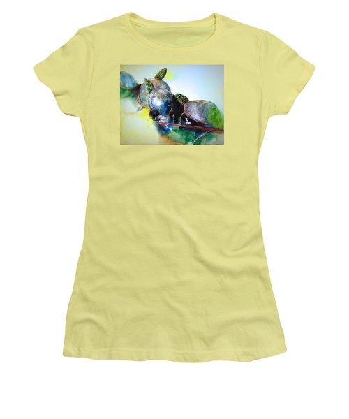 Close Friends Women's T-Shirt (Athletic Fit)