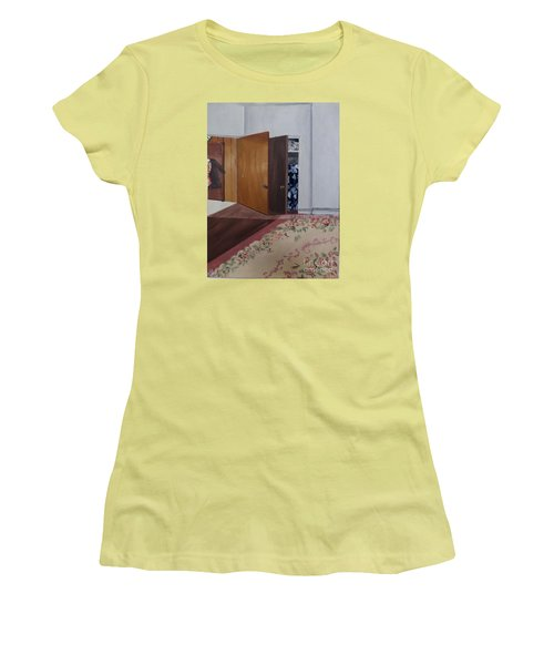 Closet Doors Women's T-Shirt (Junior Cut) by Lyric Lucas