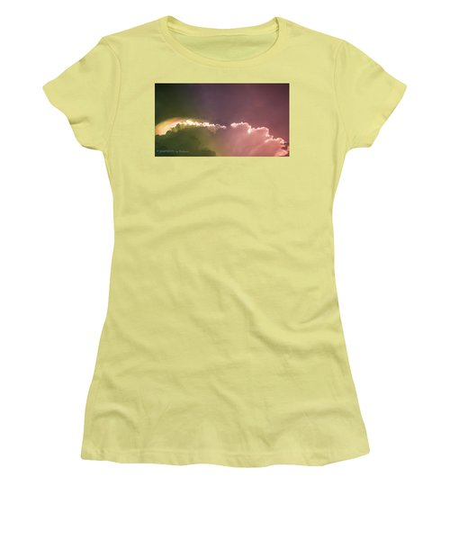 Cloud Eruption Women's T-Shirt (Athletic Fit)