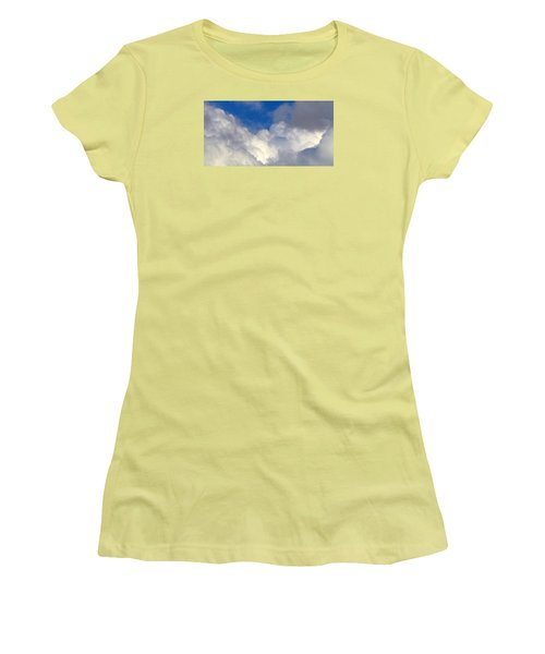 Clouds After The Rain Women's T-Shirt (Athletic Fit)
