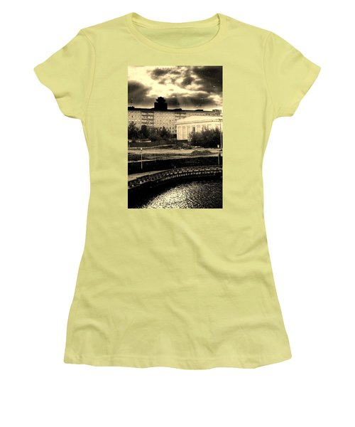Clouds Over Minsk Women's T-Shirt (Junior Cut) by Vadim Levin