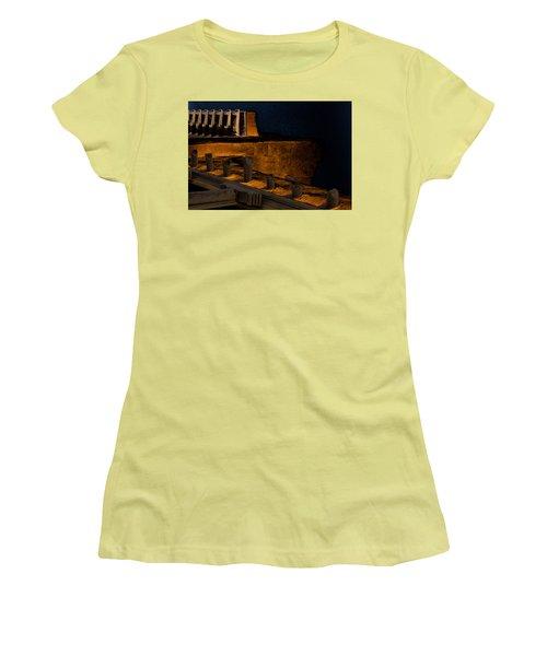 Coastal Embankment Women's T-Shirt (Athletic Fit)