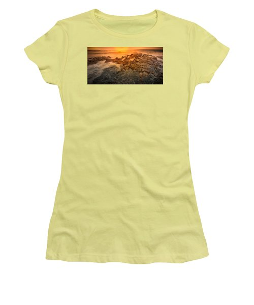 Coastal Rocks Women's T-Shirt (Athletic Fit)