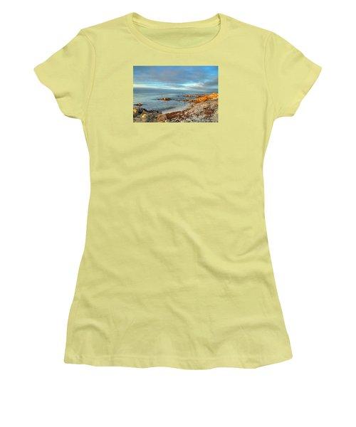 Coastal Sunset Women's T-Shirt (Athletic Fit)