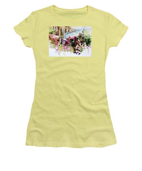 Coastal Vista Women's T-Shirt (Junior Cut) by Rae Andrews