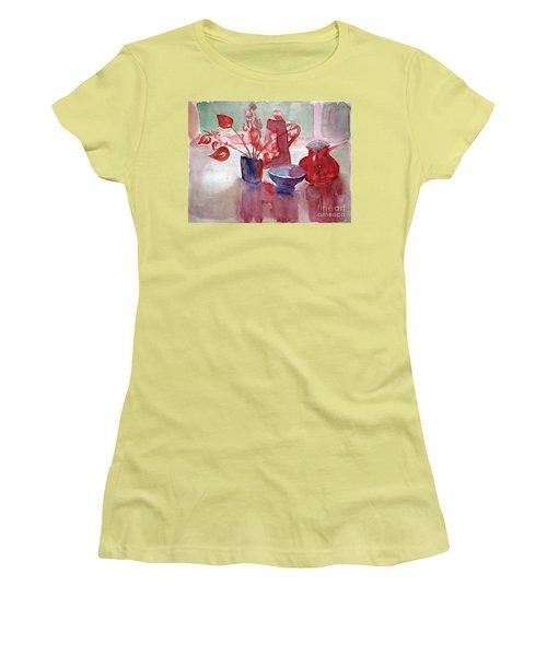 Coffee Time Women's T-Shirt (Junior Cut) by Jasna Dragun