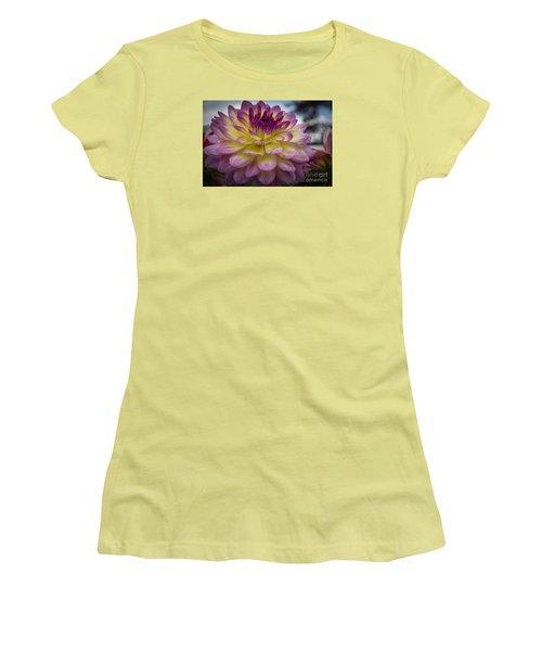 Color Starburst Women's T-Shirt (Athletic Fit)