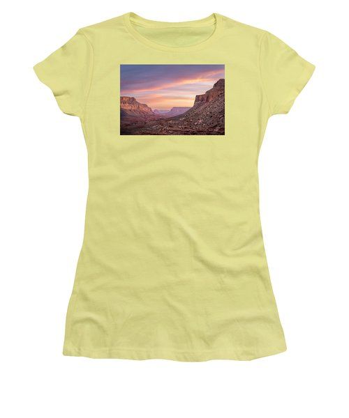 Colorful Havasupai Hike Women's T-Shirt (Athletic Fit)