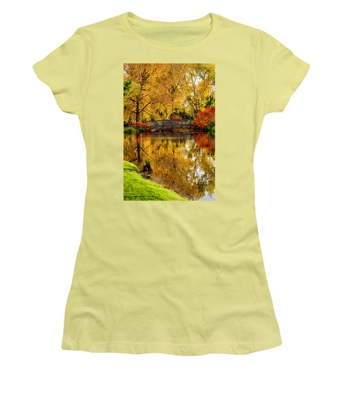 Colorful Reflections Women's T-Shirt (Athletic Fit)