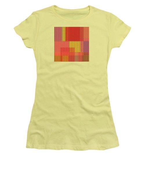 Colorful Weave Women's T-Shirt (Junior Cut)