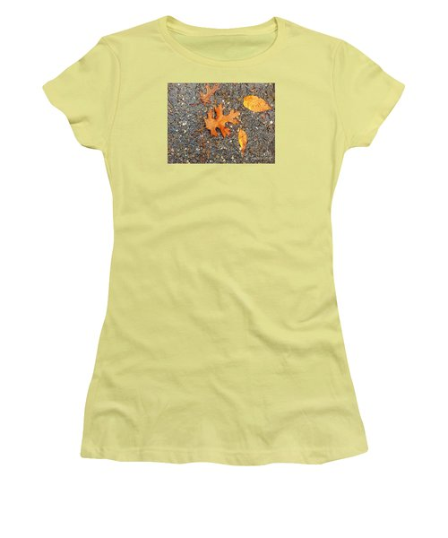 Colors Of Autumn In Montreal Women's T-Shirt (Junior Cut) by Reb Frost