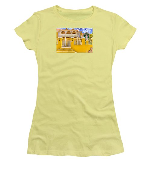 Colors Of Paradise Women's T-Shirt (Athletic Fit)