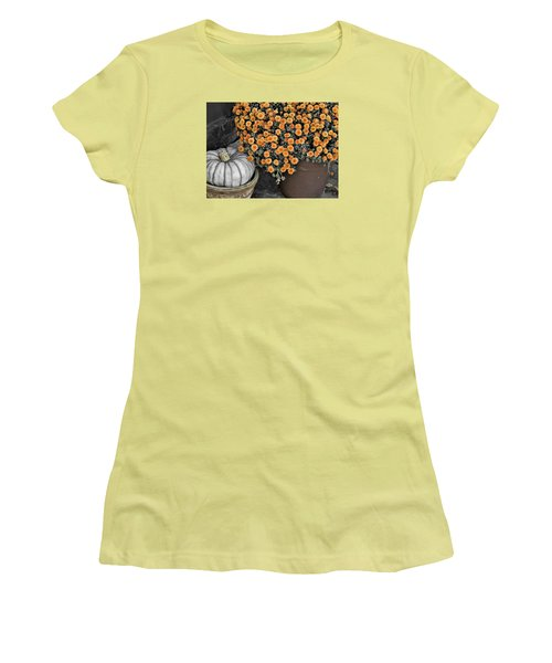 Colors Of The Fall Women's T-Shirt (Junior Cut) by JAMART Photography