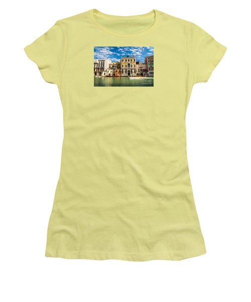 Colors Of Venice - Italy Women's T-Shirt (Athletic Fit)