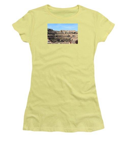 Colosseum Inside Women's T-Shirt (Junior Cut) by Kaitlin McQueen