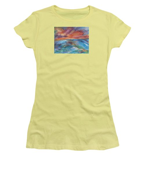 Colours Of The Sea 8 Women's T-Shirt (Athletic Fit)