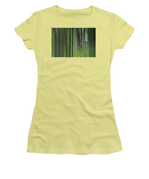 Columbine Spring Women's T-Shirt (Athletic Fit)