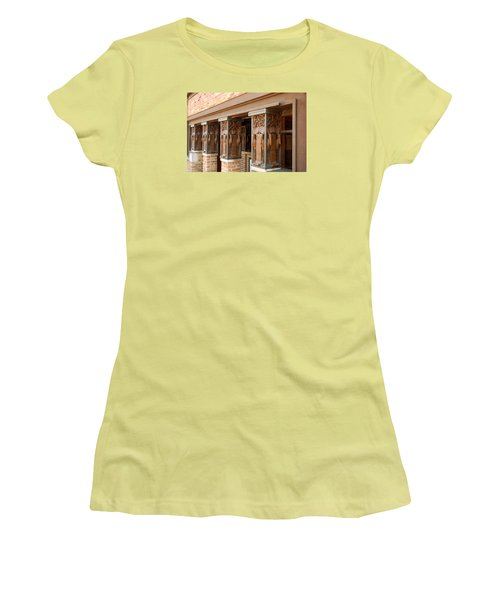 Columns At Frank Lloyd Wright Studio Women's T-Shirt (Junior Cut)
