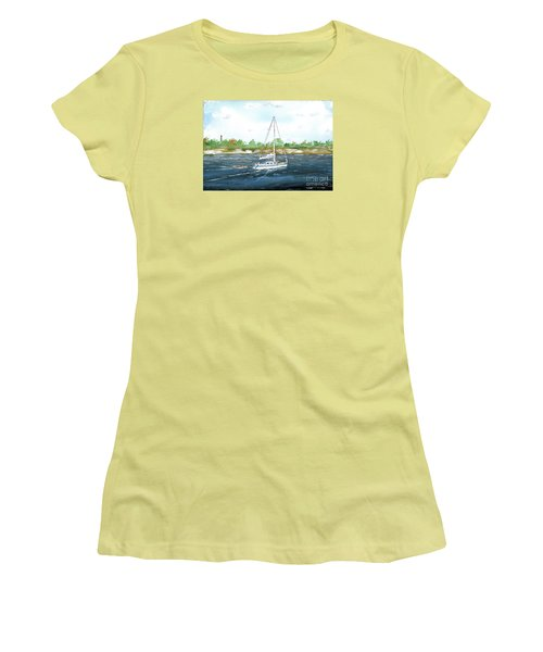 Coming Back To The Isle Of Palms Women's T-Shirt (Athletic Fit)