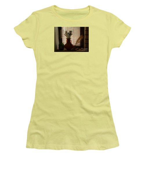 Women's T-Shirt (Junior Cut) featuring the photograph Composition by AmaS Art