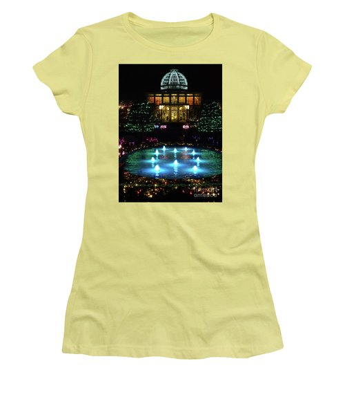 Conservatory At Night Women's T-Shirt (Athletic Fit)