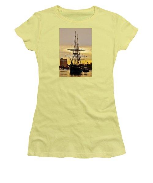 Constellation Gold Women's T-Shirt (Junior Cut) by William Bartholomew