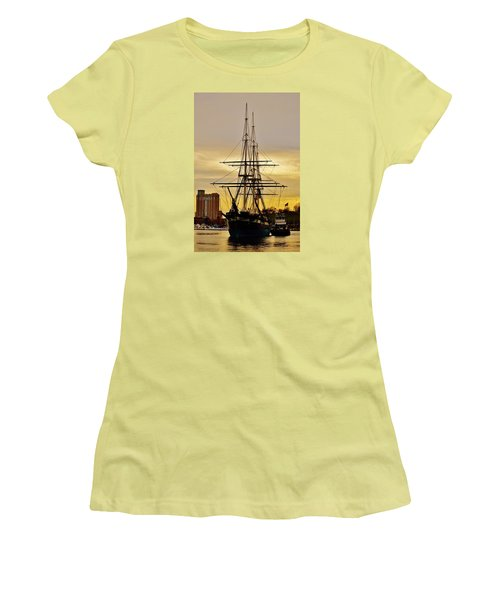 Constellation Gold Women's T-Shirt (Athletic Fit)