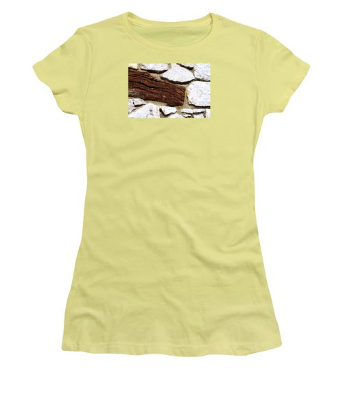Women's T-Shirt (Junior Cut) featuring the digital art Constriction by Leo Symon