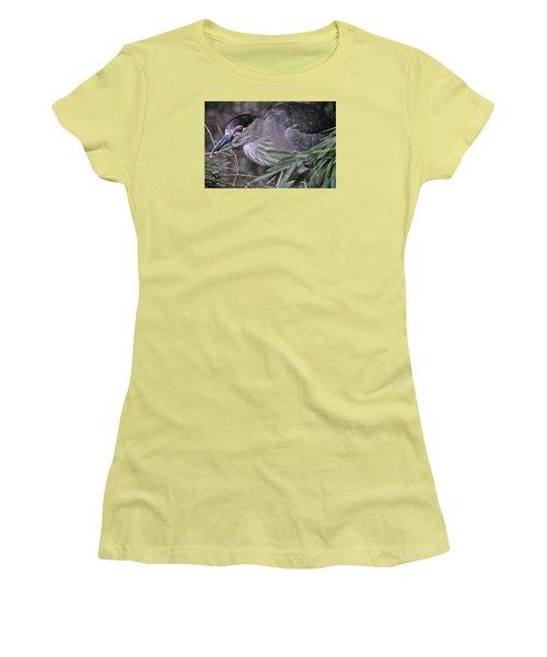 Constructing A Nest Women's T-Shirt (Junior Cut) by Mike Martin