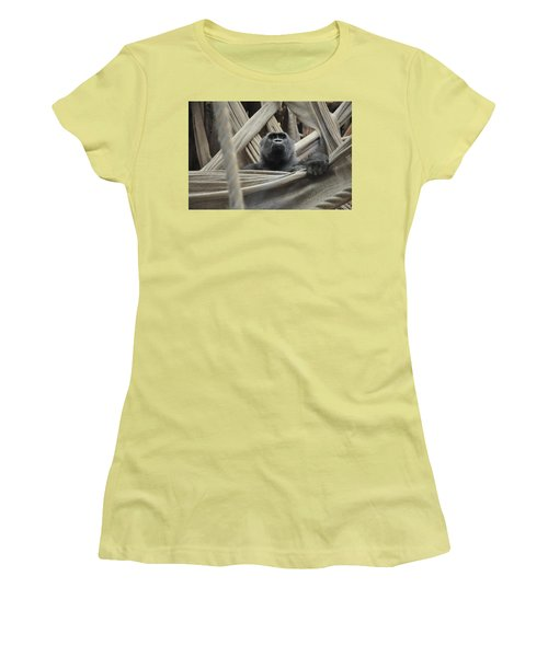 Contemplate Women's T-Shirt (Athletic Fit)