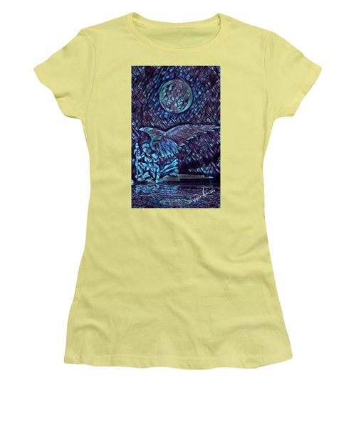 Contemplating The Next Move Women's T-Shirt (Athletic Fit)