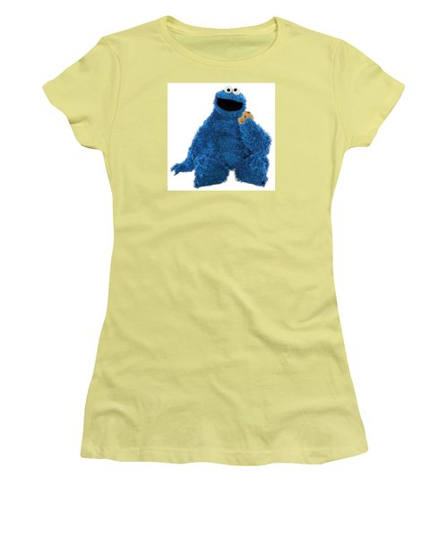 Cookie Monster Women's T-Shirt (Athletic Fit)