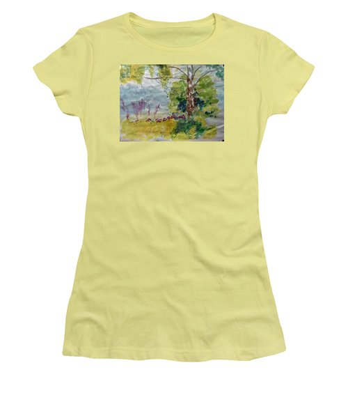 Cool Summer Clearing Women's T-Shirt (Athletic Fit)