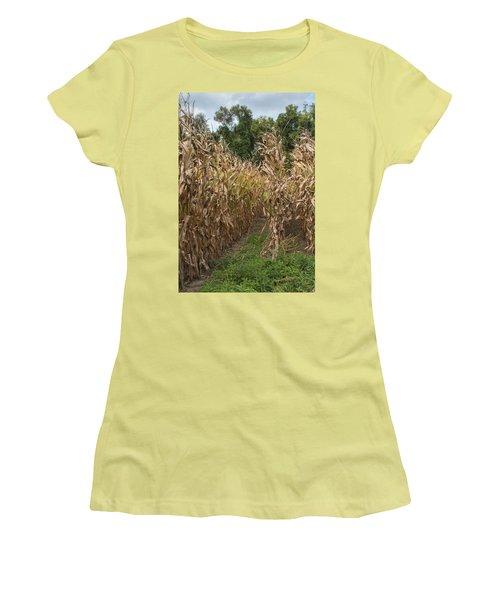 Cornstalks Women's T-Shirt (Athletic Fit)