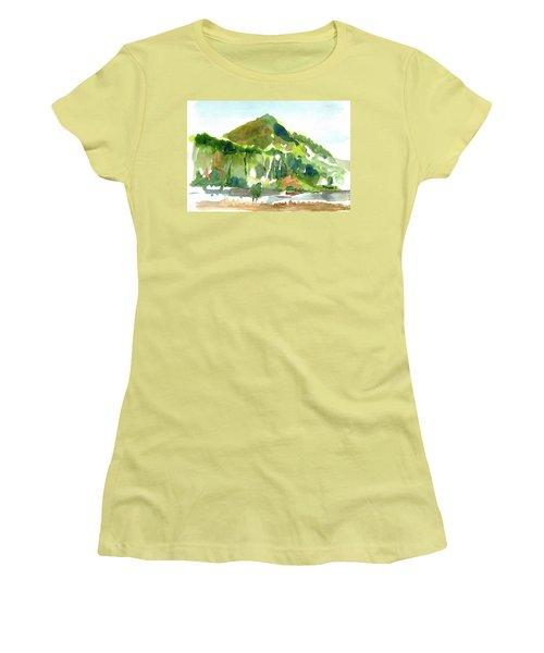 Corte Madera Creek Women's T-Shirt (Junior Cut) by Tom Simmons
