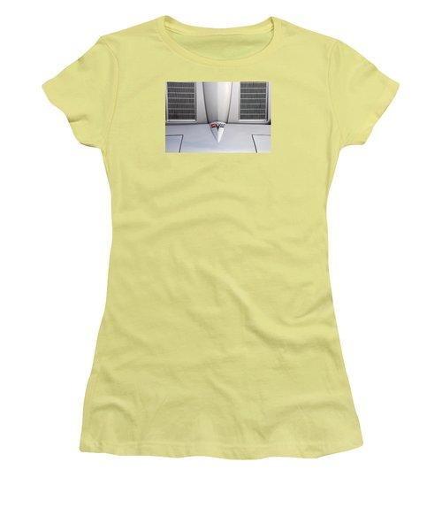 Corvette Hood Women's T-Shirt (Athletic Fit)