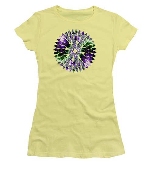 Cosmic Leaves Women's T-Shirt (Athletic Fit)