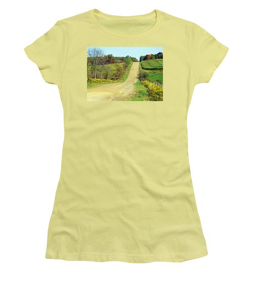 Country Days Women's T-Shirt (Athletic Fit)